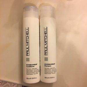 paul mitchell invisible wear shampoo conditioner